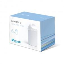 Комплект картриджей для фильтра-кувшина Ecosoft Dewberry 6 шт.