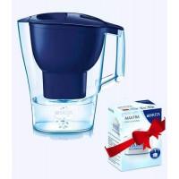 Фильтр - кувшин Brita Aluna XL синий + 1 картридж